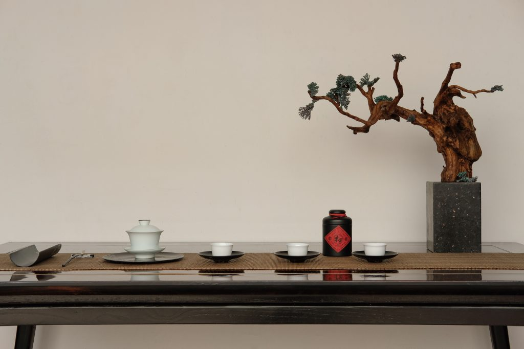 money attracting feng shui bonsai tree table tea